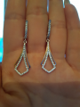 Серебрянные серьги!