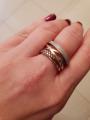 Роскошное золотое кольцо с бриллиантами