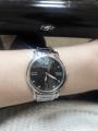Часы наметалическом ремешке