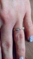 Золотое кольцо с брильянтами.