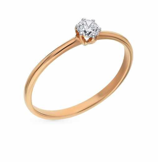 e447b628e152 Недорогие женские золотые кольца — купить недорого в каталоге с фото ...