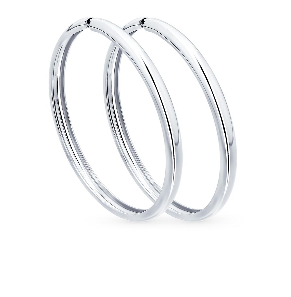 серебряные серьги SOKOLOV 94140012