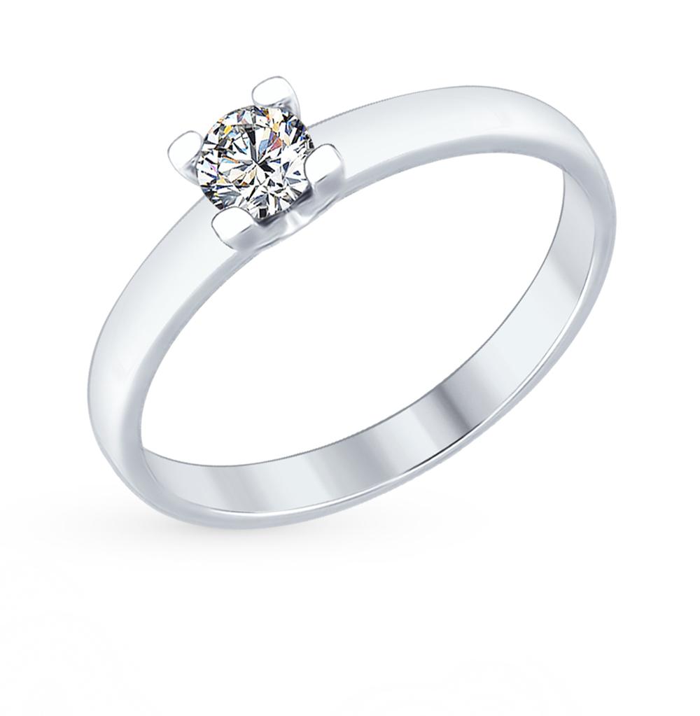 Серебряное кольцо с фианитами SOKOLOV 89010060 в Екатеринбурге