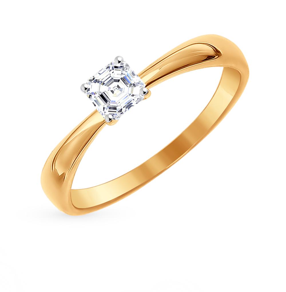 Золотое кольцо с фианитами SOKOLOV 81010233* в Екатеринбурге
