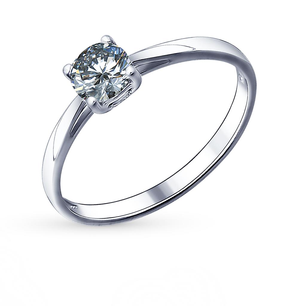 серебряное кольцо с фианитами SOKOLOV 94011490