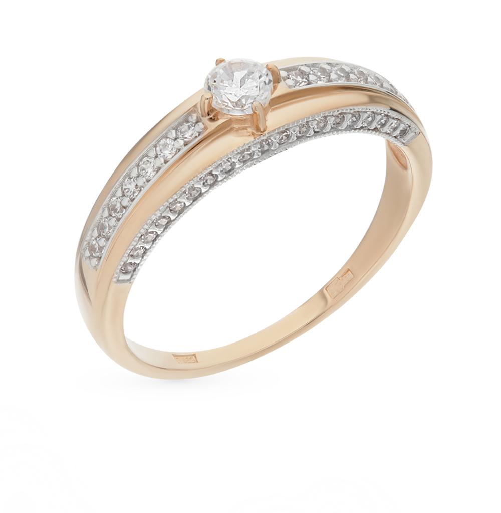 Золотое кольцо с фианитами SOKOLOV 015873* в Екатеринбурге