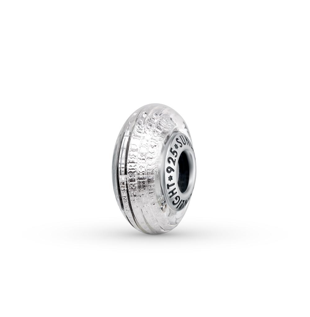 Фото «серебряная подвеска - шарм с алпанитом»