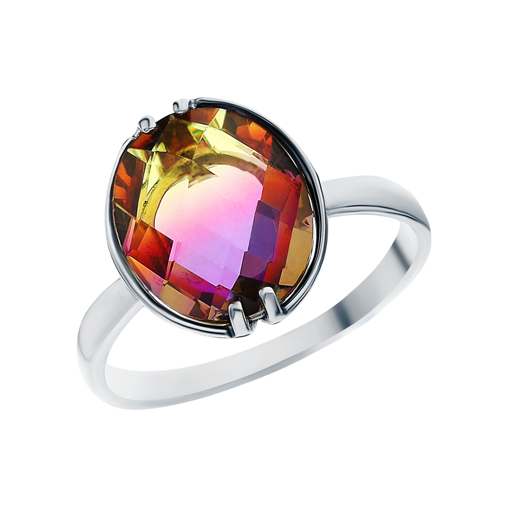 Фото «Серебряное кольцо с аметрином»