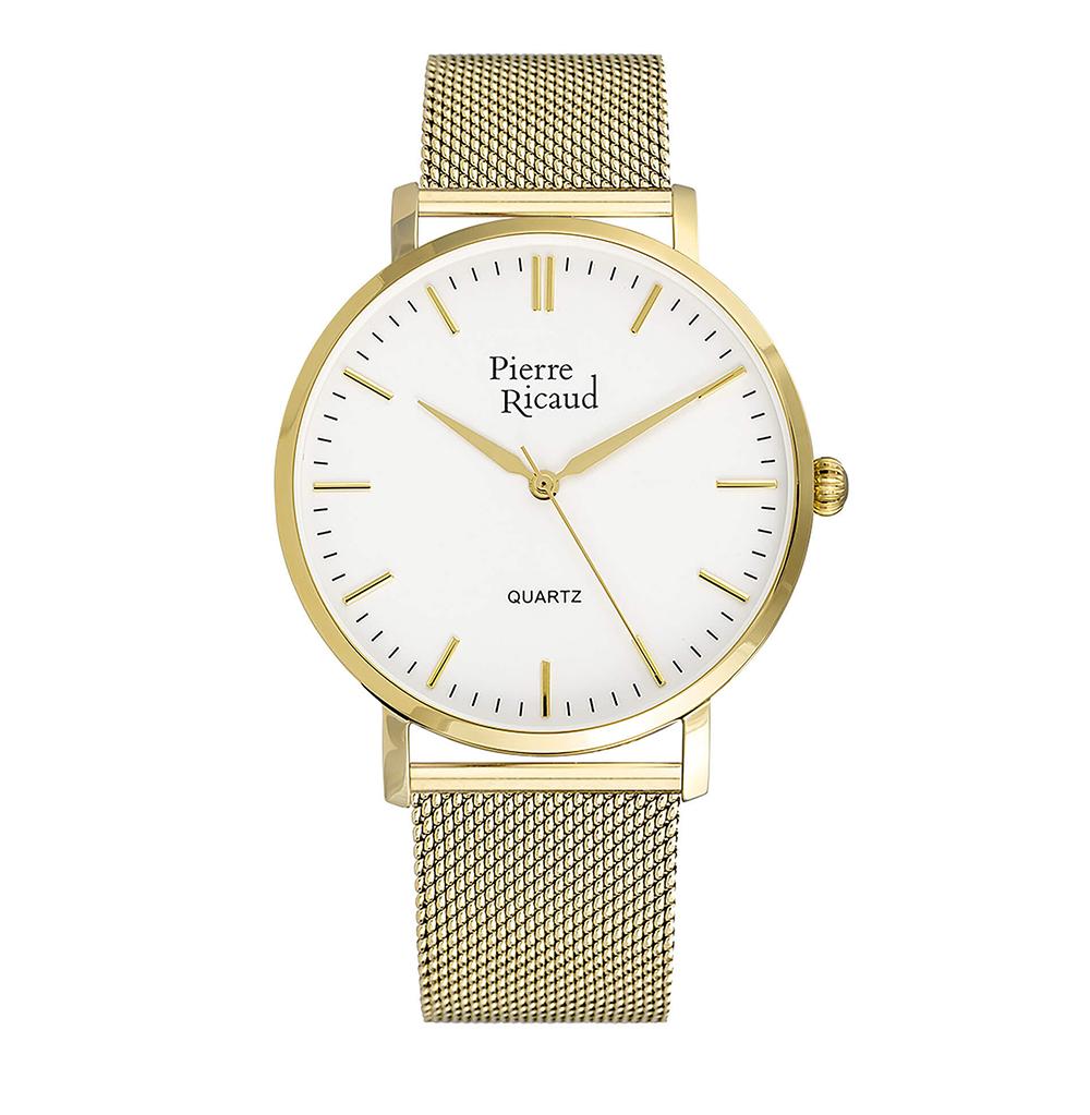 Фото «Мужские кварцевые часы P91082.1113Q на стальном браслете с минеральным стеклом»