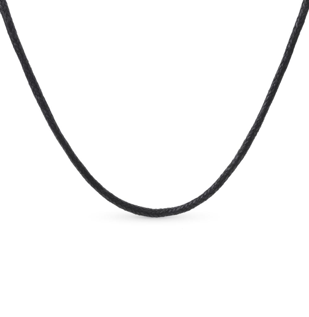 Фото «шейное украшение из серебра и кожи»