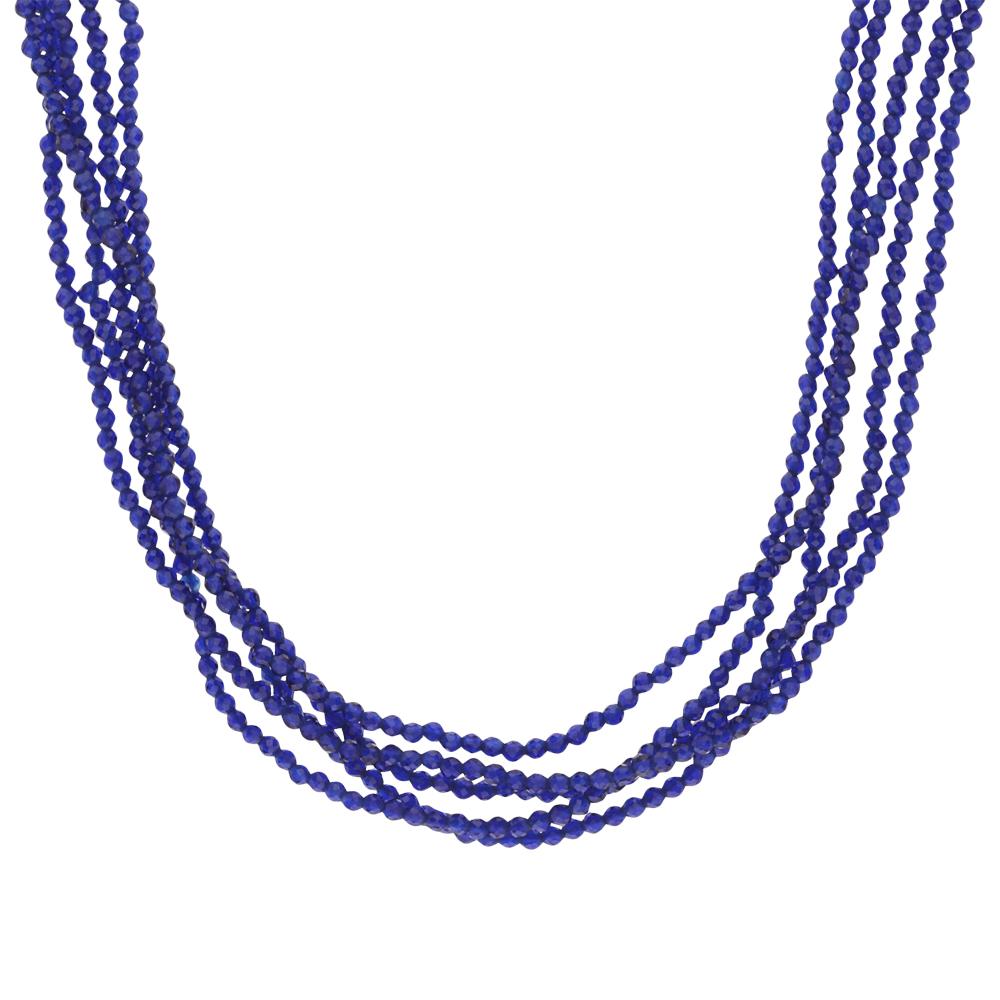 Фото «Серебряное шейное украшение со шпинелью»