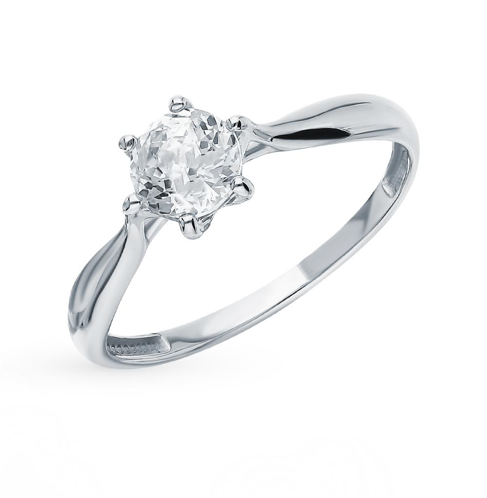 Золотое кольцо с фианитами SOKOLOV 81010286* в Санкт-Петербурге