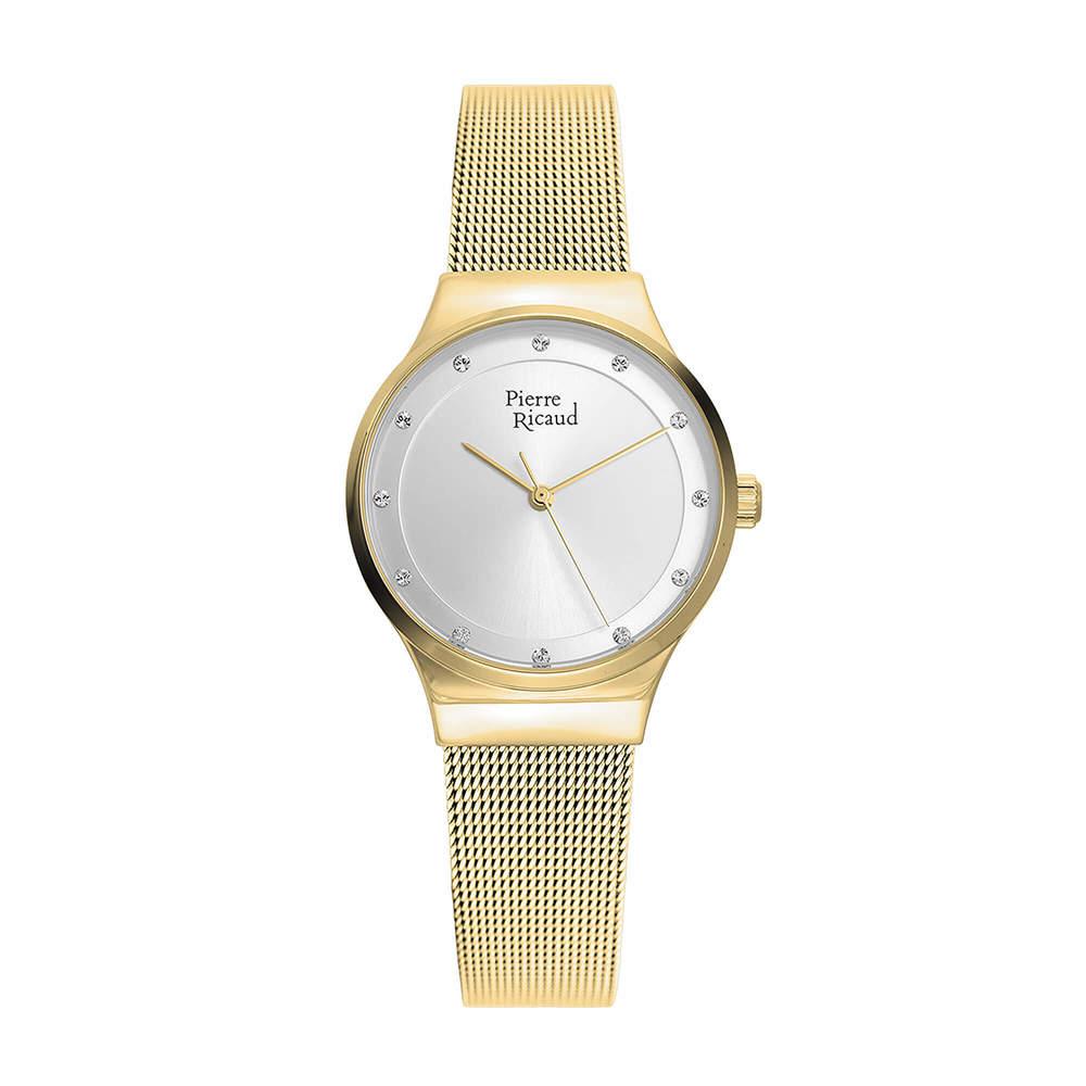 Фото «Женские кварцевые часы P22038.1143Q на стальном браслете с минеральным стеклом»