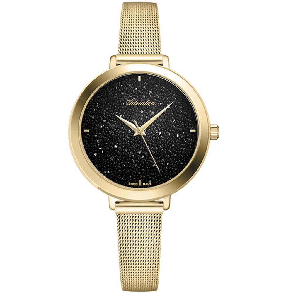 Женские часы A3787.1114Q на стальном браслете с PVD покрытием с минеральным стеклом в Екатеринбурге