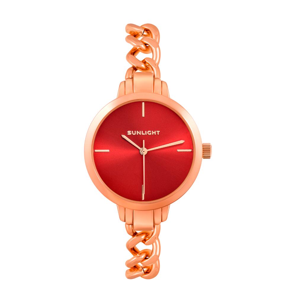 Женские часы с браслетом-цепочкой