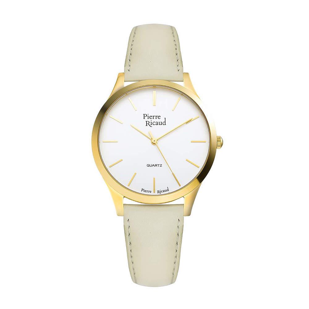 Фото «Женские кварцевые часы P22000.1V13Q на кожаном ремешке с минеральным стеклом»