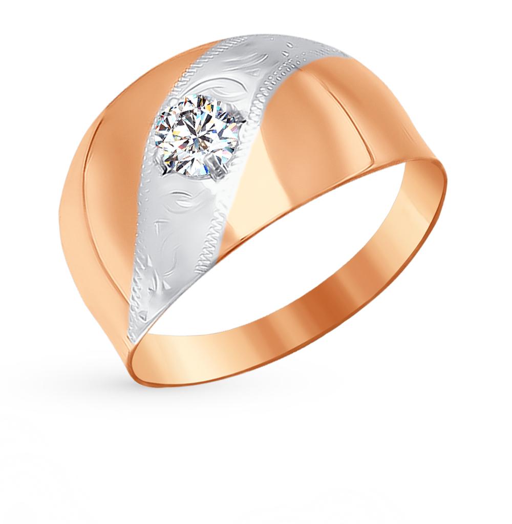 Золотое кольцо с фианитами SOKOLOV 016727* в Екатеринбурге