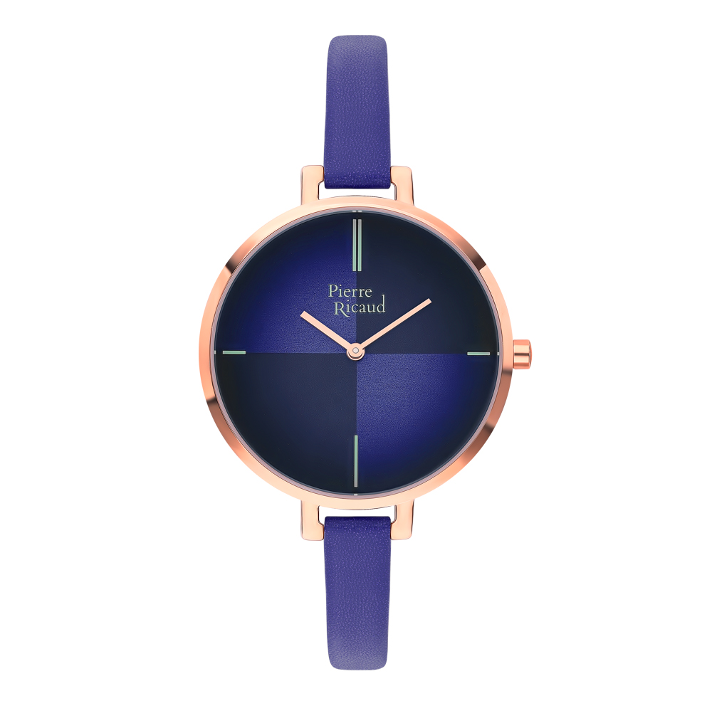 Женские часы P22040.9N1NQ на кожаном ремешке с минеральным стеклом