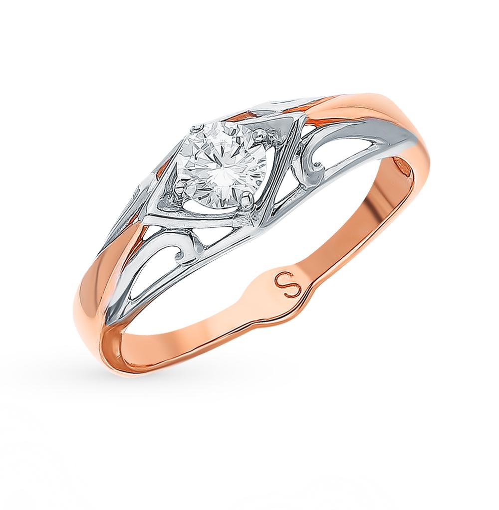 Золотое кольцо с фианитами SOKOLOV 017830* в Екатеринбурге