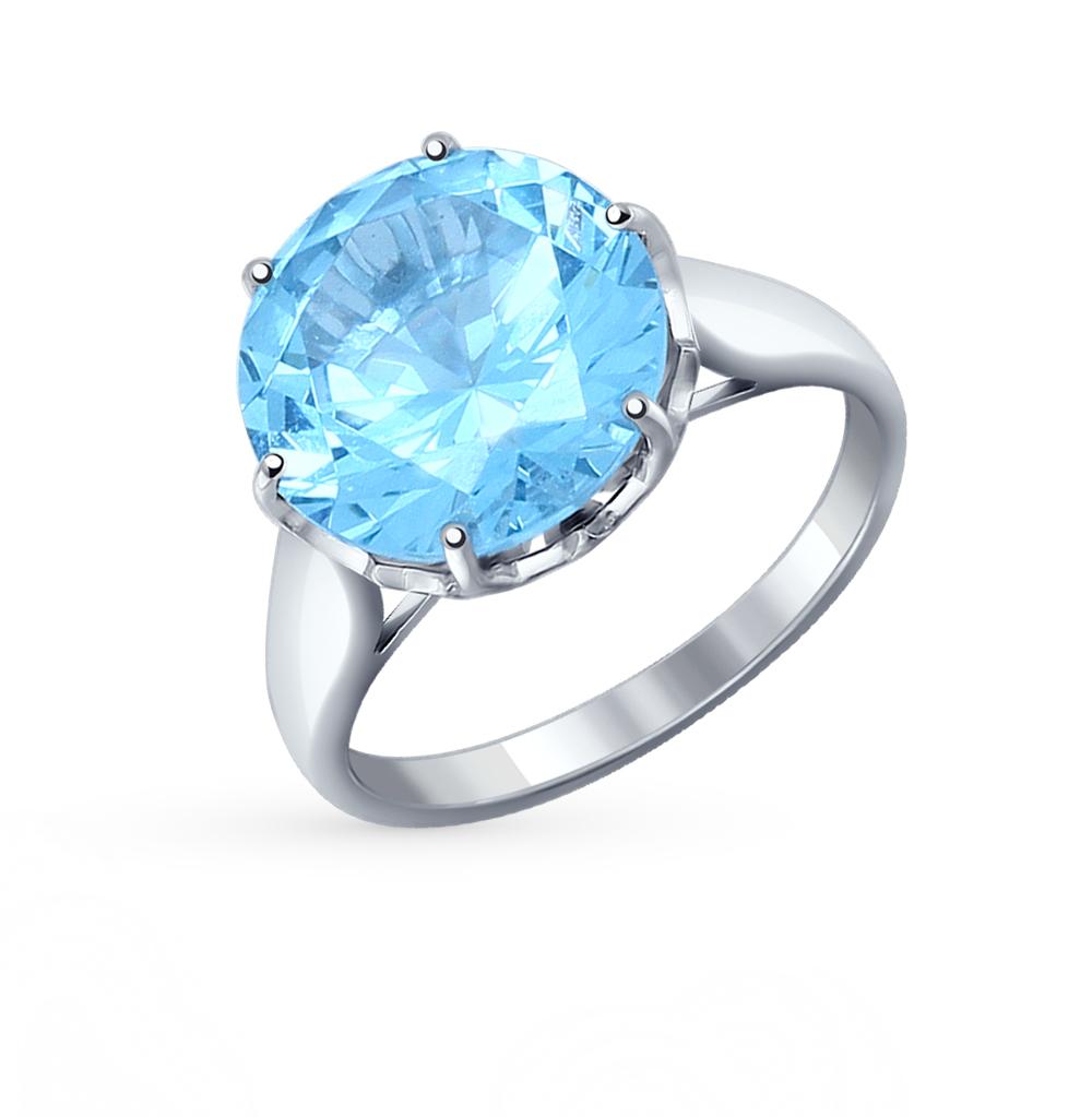 Серебряное кольцо с наноситалом