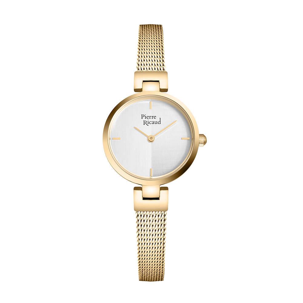 Фото «Женские кварцевые часы P22104.1113Q на стальном браслете с минеральным стеклом»