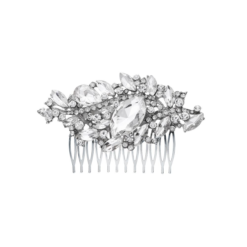 Фото «Стальная заколка с ювелирными кристаллами»