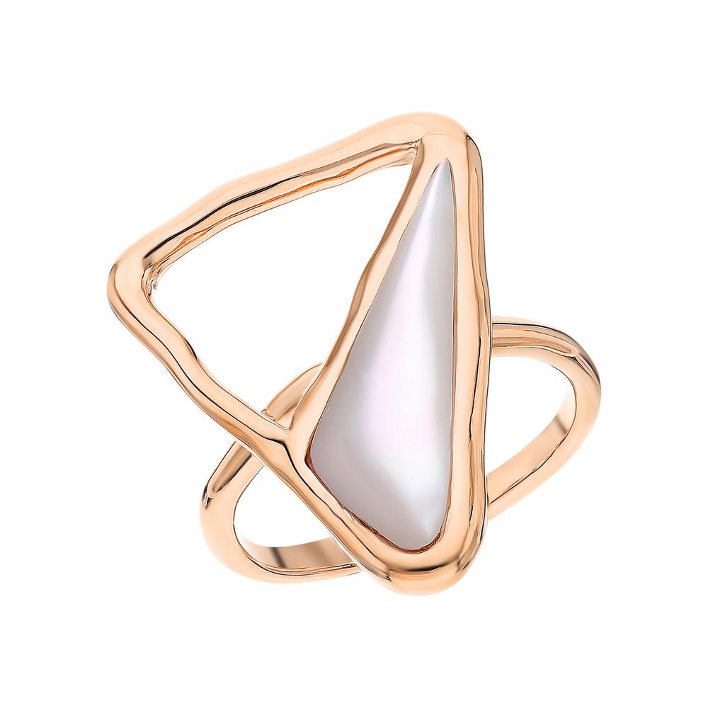 Серебряное кольцо с перламутром в Екатеринбурге