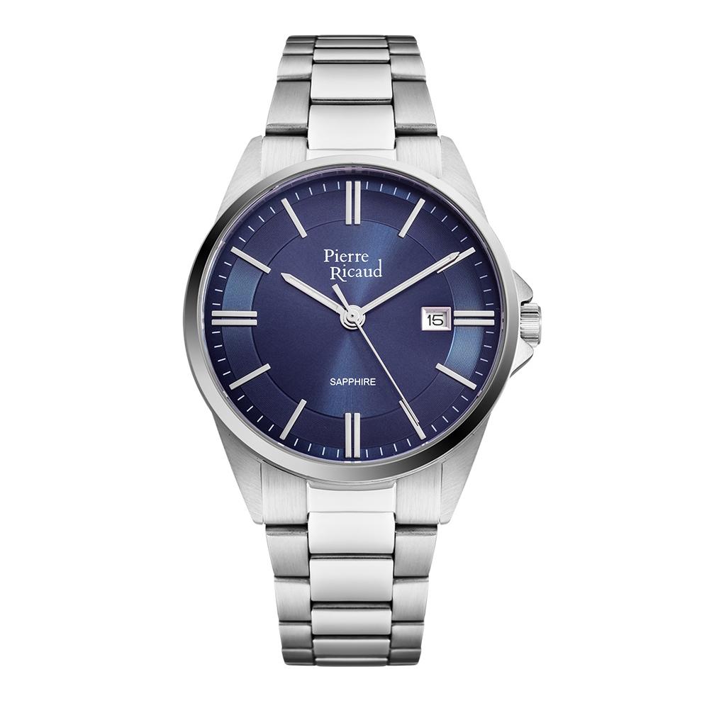 Мужские часы P60022.5115Q на стальном браслете с сапфировым стеклом в Екатеринбурге
