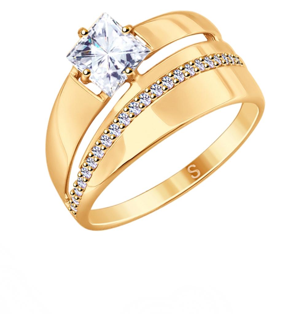 Серебряное кольцо с фианитами SOKOLOV 93010782 в Екатеринбурге