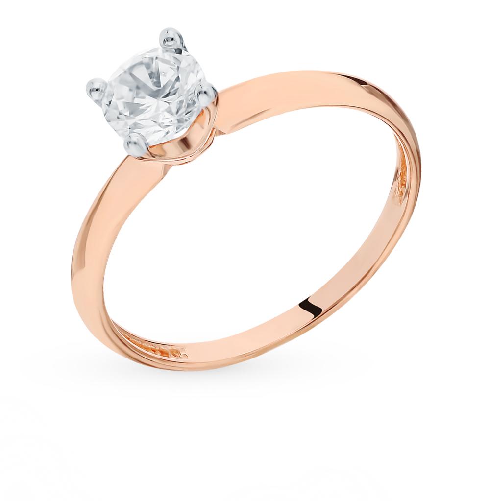 Фото «Золотое кольцо с фианитом»