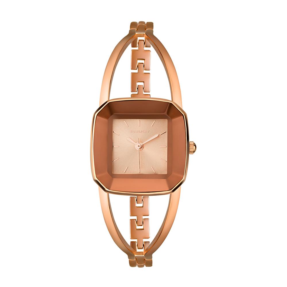 Фото «Модные женские часы на металлическом браслете»