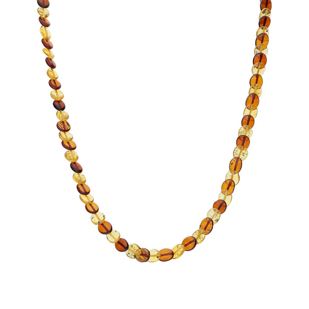 Фото «Шейное украшение с янтарем»