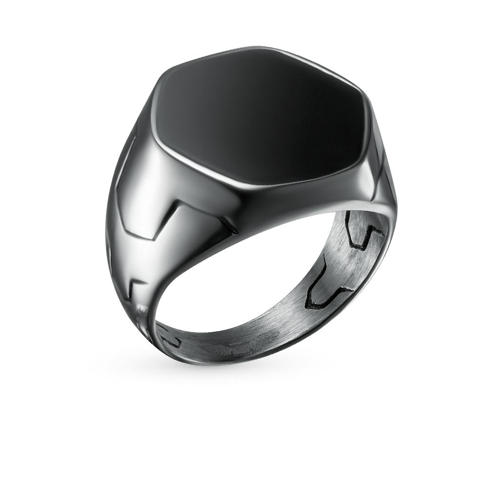 Фото «Стальное кольцо с эмалью»