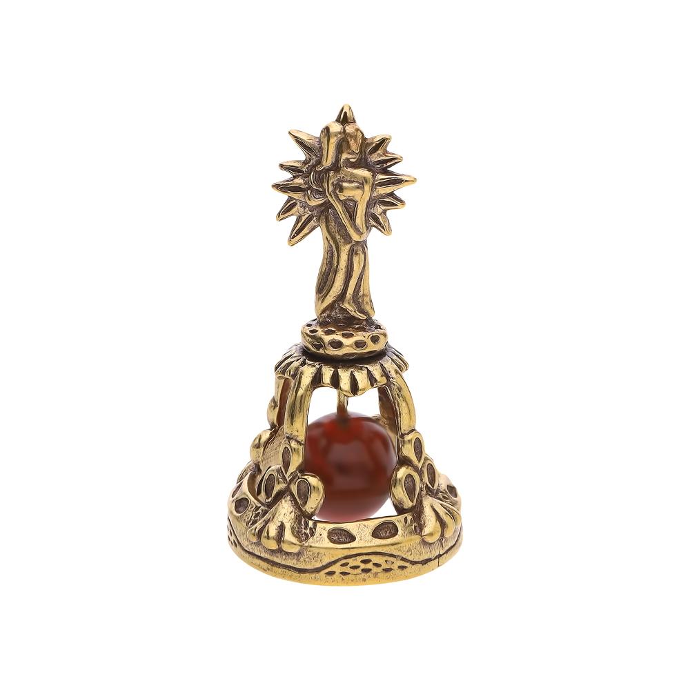 Стальной сувенир настольный с янтарем в Екатеринбурге