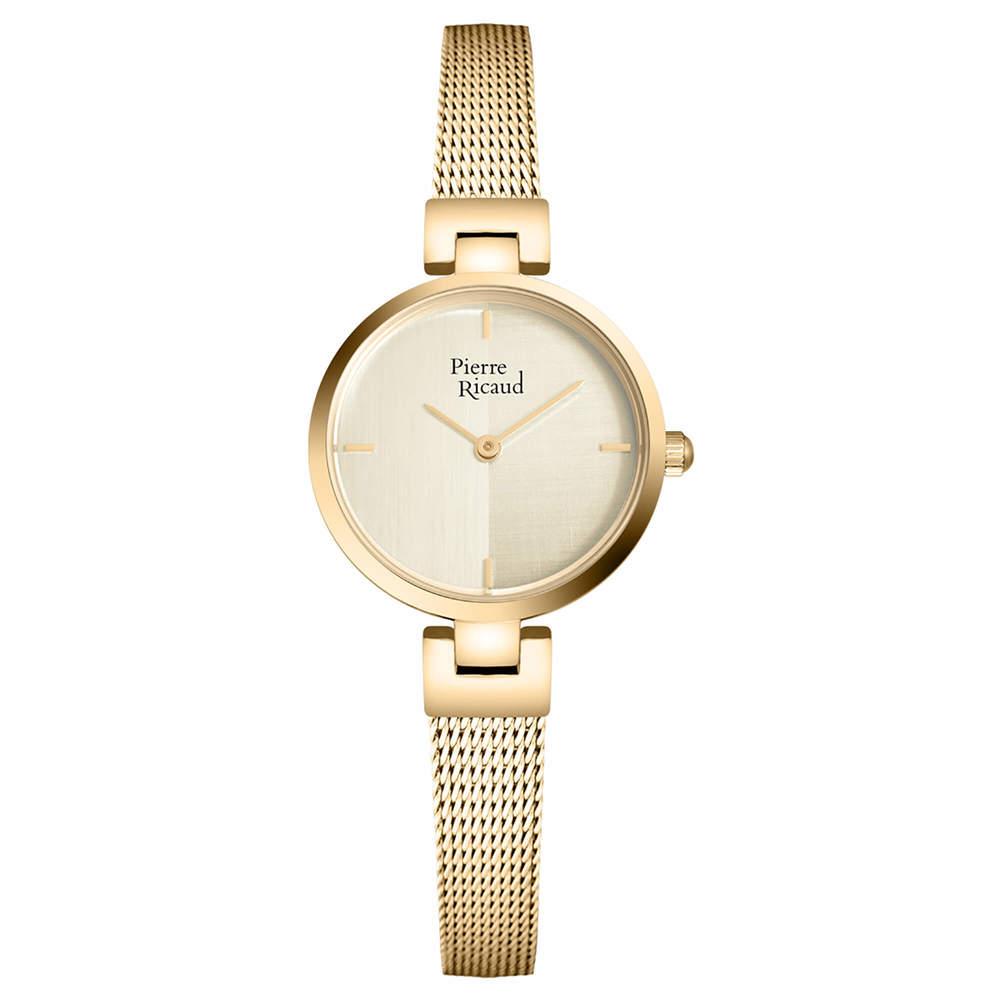 Фото «Женские кварцевые часы P22104.1111Q на стальном браслете с минеральным стеклом»