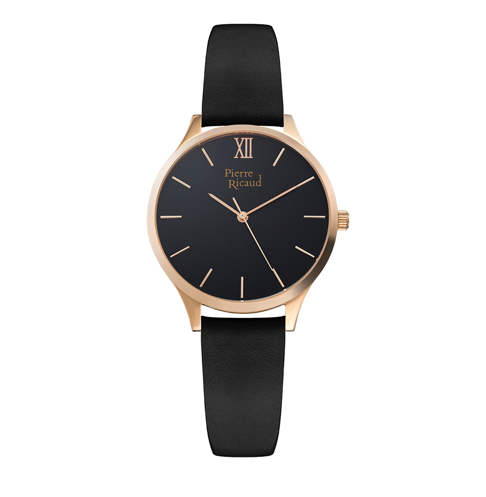 Женские часы P22033.9264Q на кожаном ремешке с минеральным стеклом
