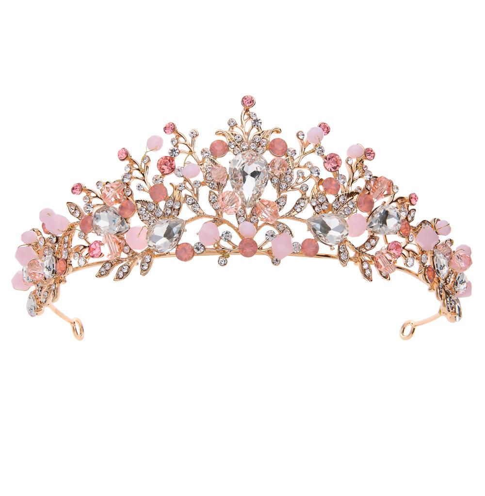 Фото «Диадема с ювелирными кристаллами»