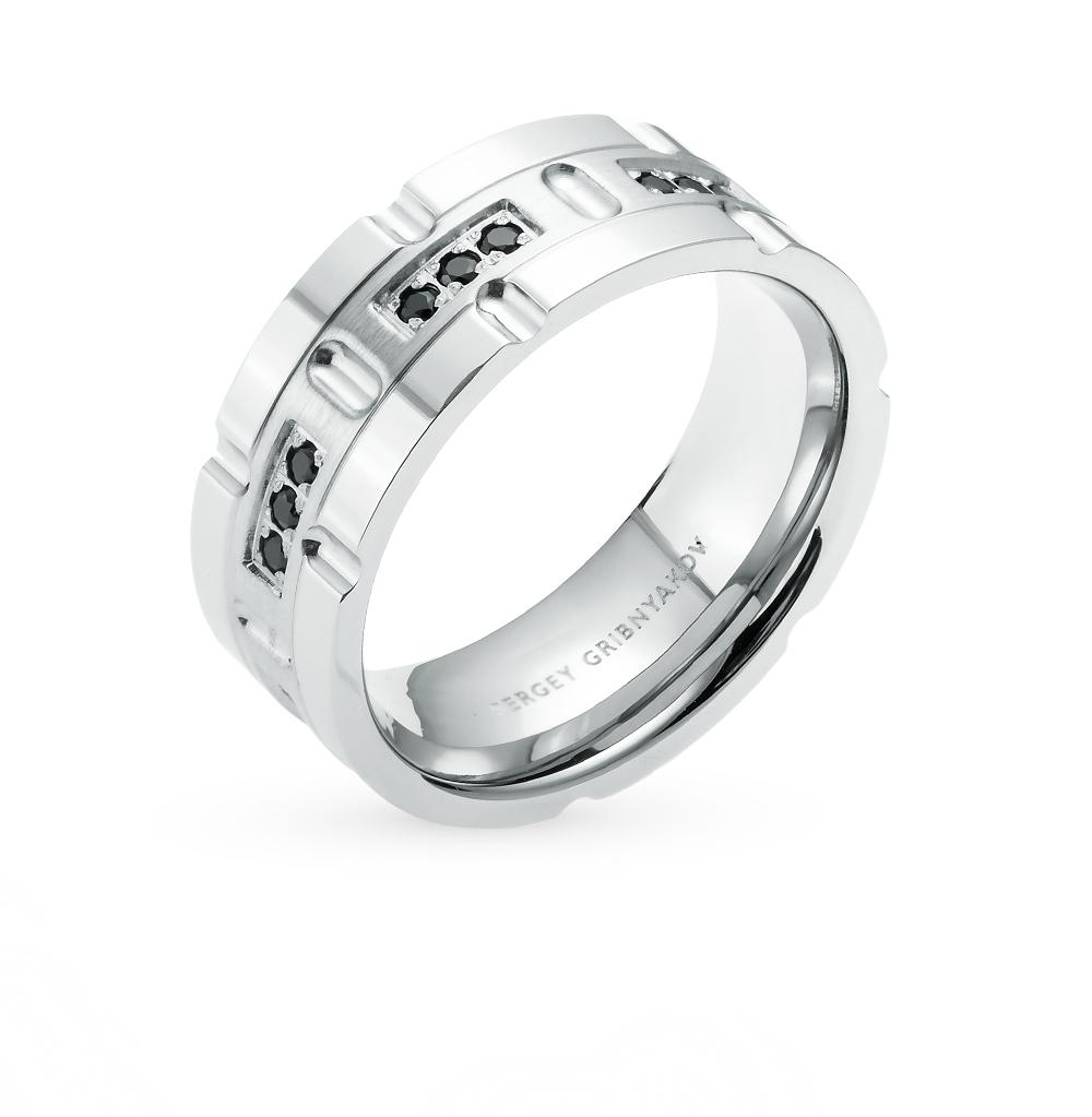 Фото «кольцо из стали с фианитами»