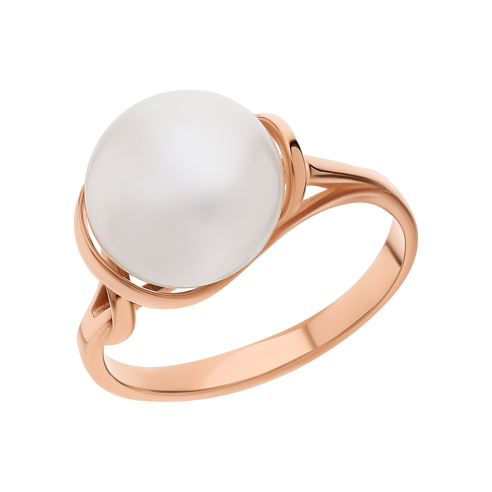Фото «Золотое кольцо с жемчугами культивированными»