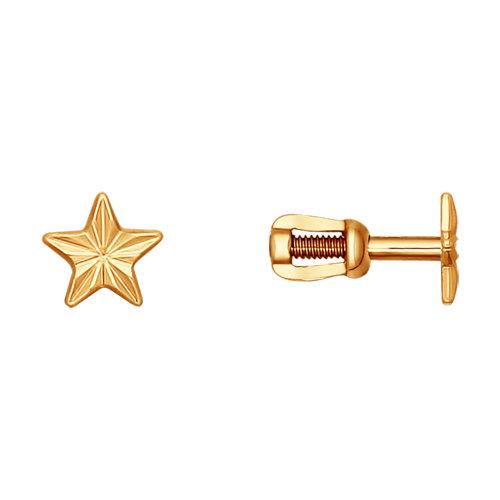 Золотые серьги SOKOLOV 022198* в Екатеринбурге