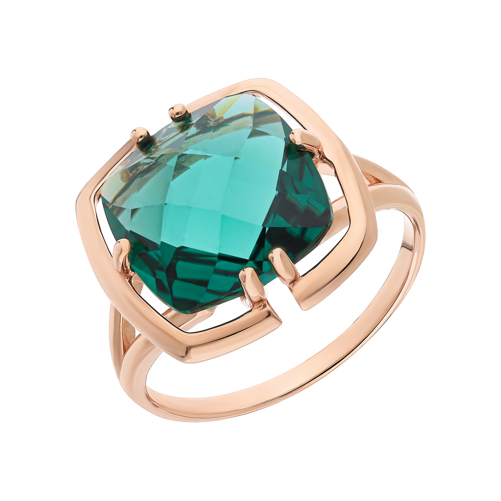 Фото «Золотое кольцо с аквамарином»