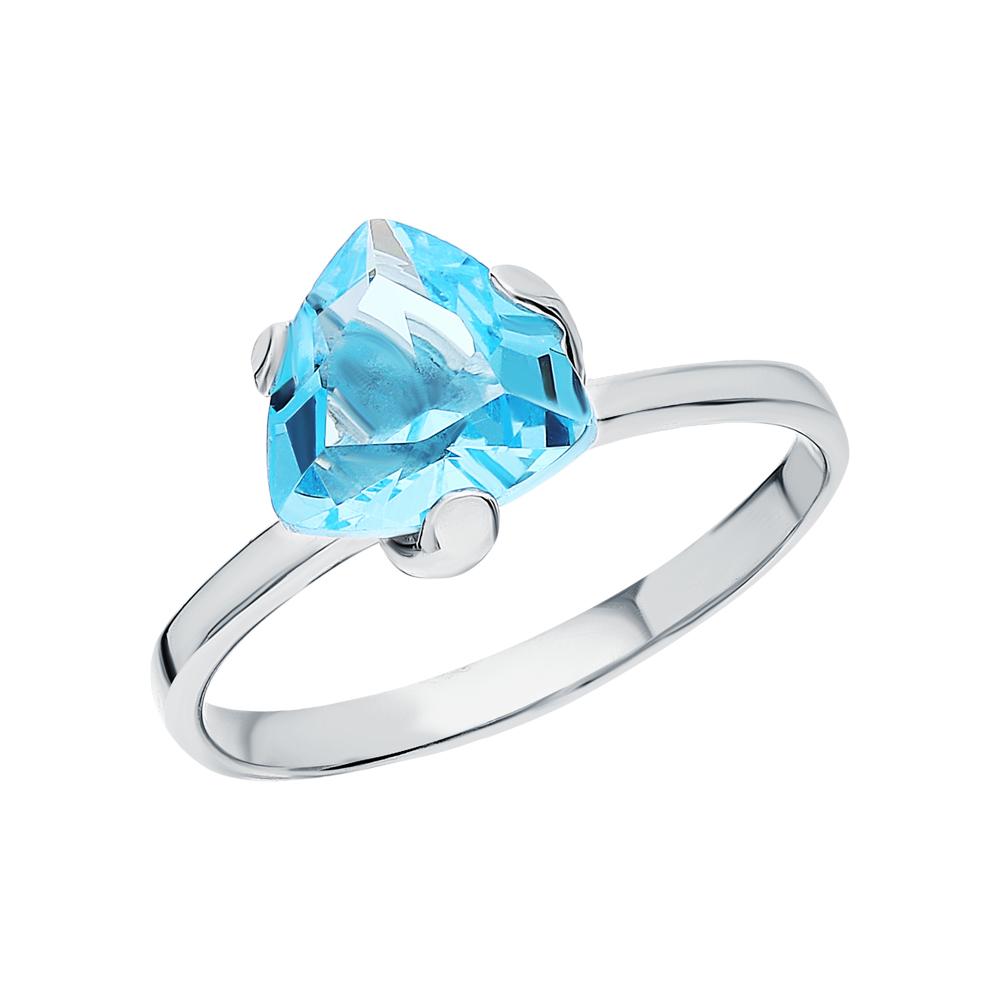 Фото «Серебряное кольцо с ювелирными кристаллами»