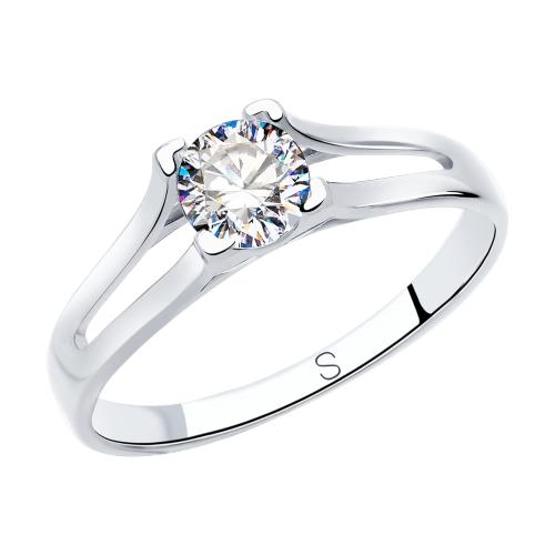 Серебряное кольцо с фианитами SOKOLOV 89010119 в Екатеринбурге