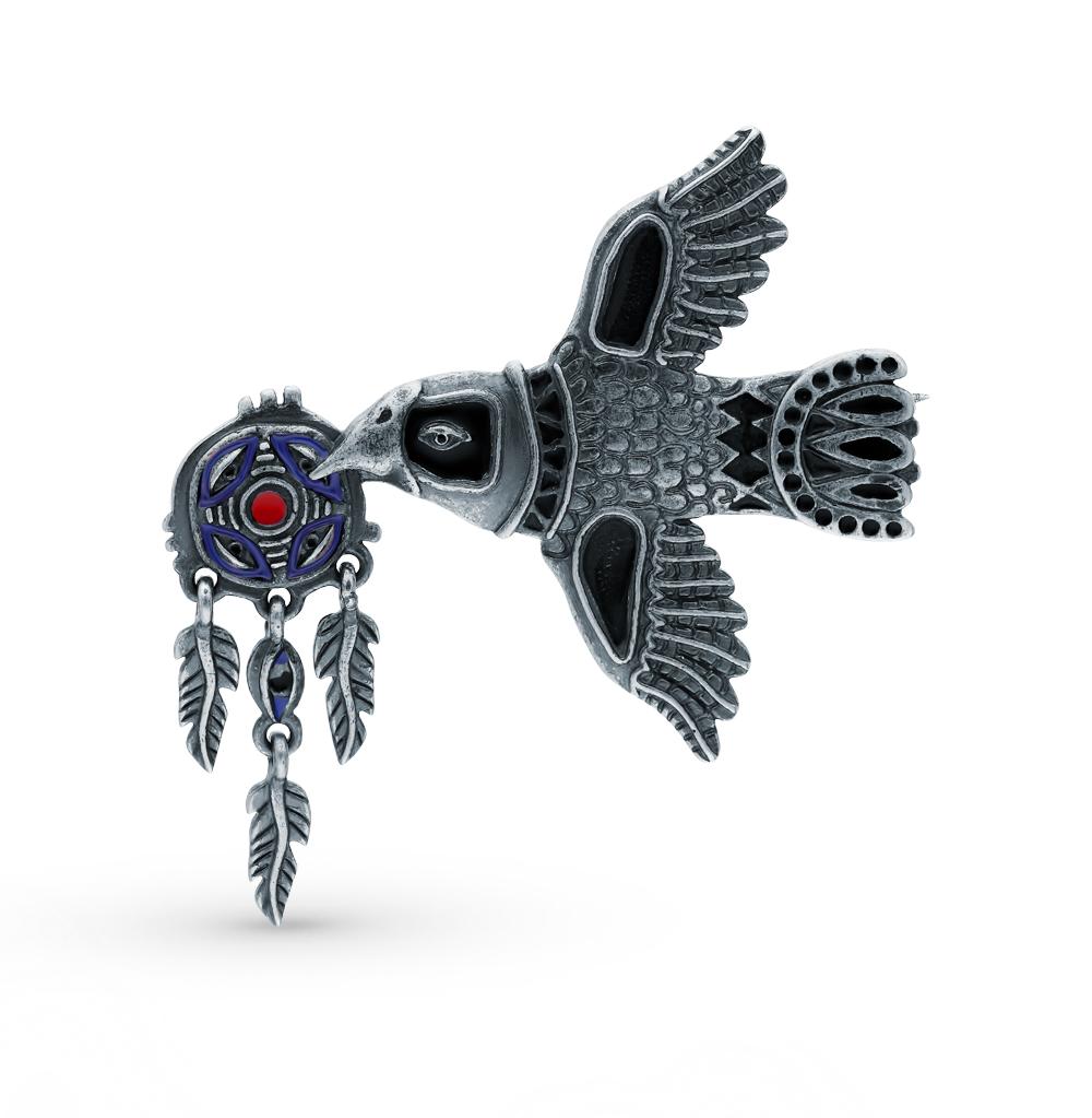Фото «Серебряная брошь с эмалью»