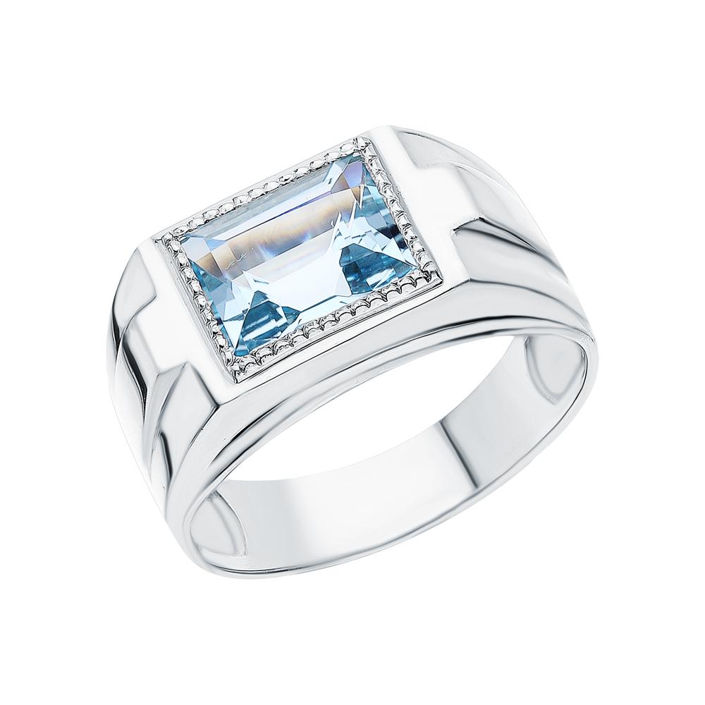 Серебряное кольцо с топазами в Санкт-Петербурге