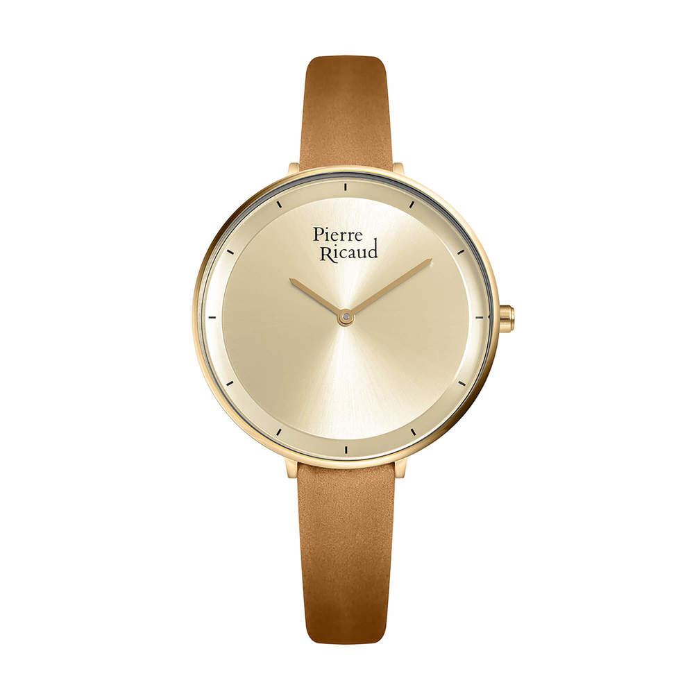 Женские кварцевые часы P22100.1B11Q на кожаном ремешке с минеральным стеклом в Екатеринбурге