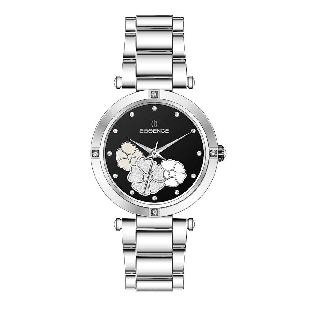 Фото «Женские  кварцевые часы ES6520FE.350 на стальном браслете с минеральным стеклом»
