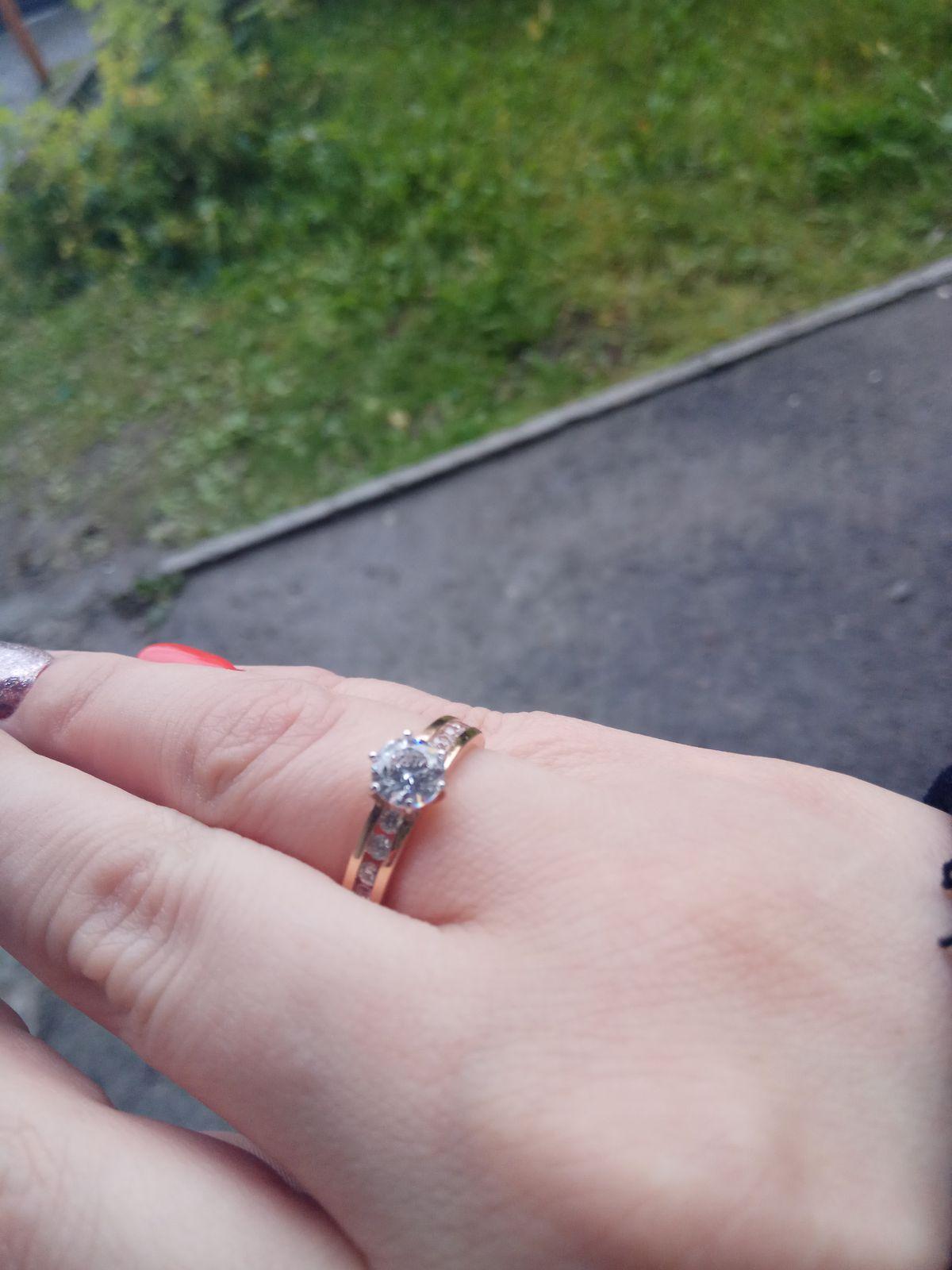Милое, очаровательное кольцо.