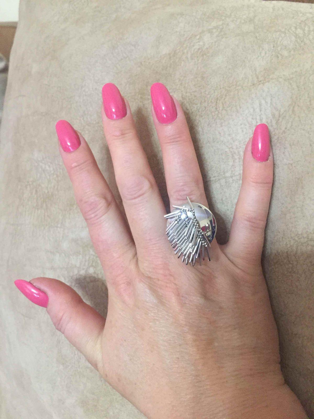 Оригинальное и красивое кольцо!