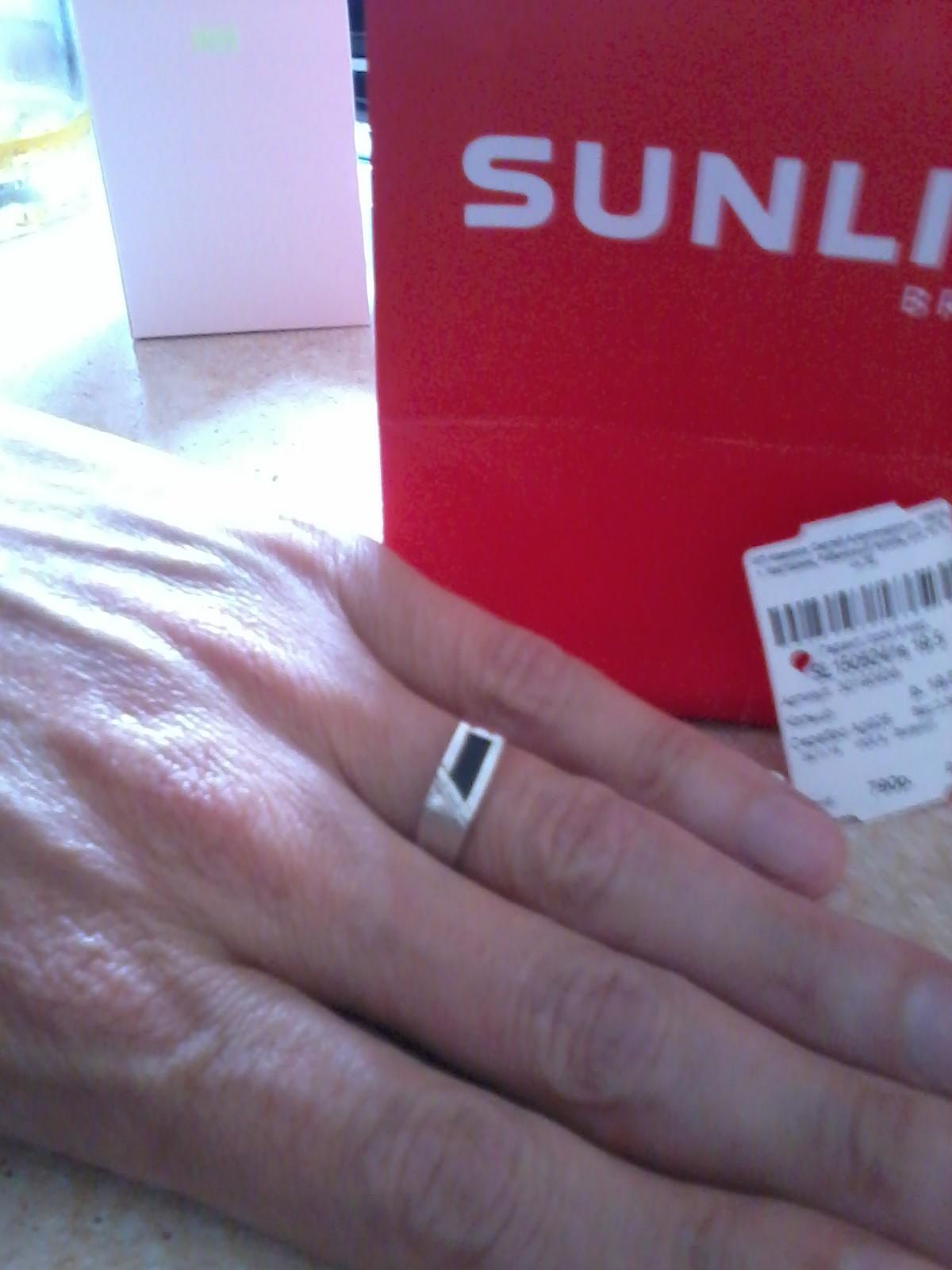 Кольцо с черным ониксом